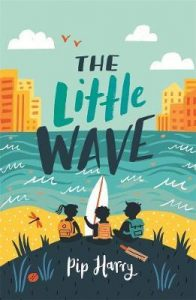 Book cover for the little wave by Pip Harry, winner of young readers category
