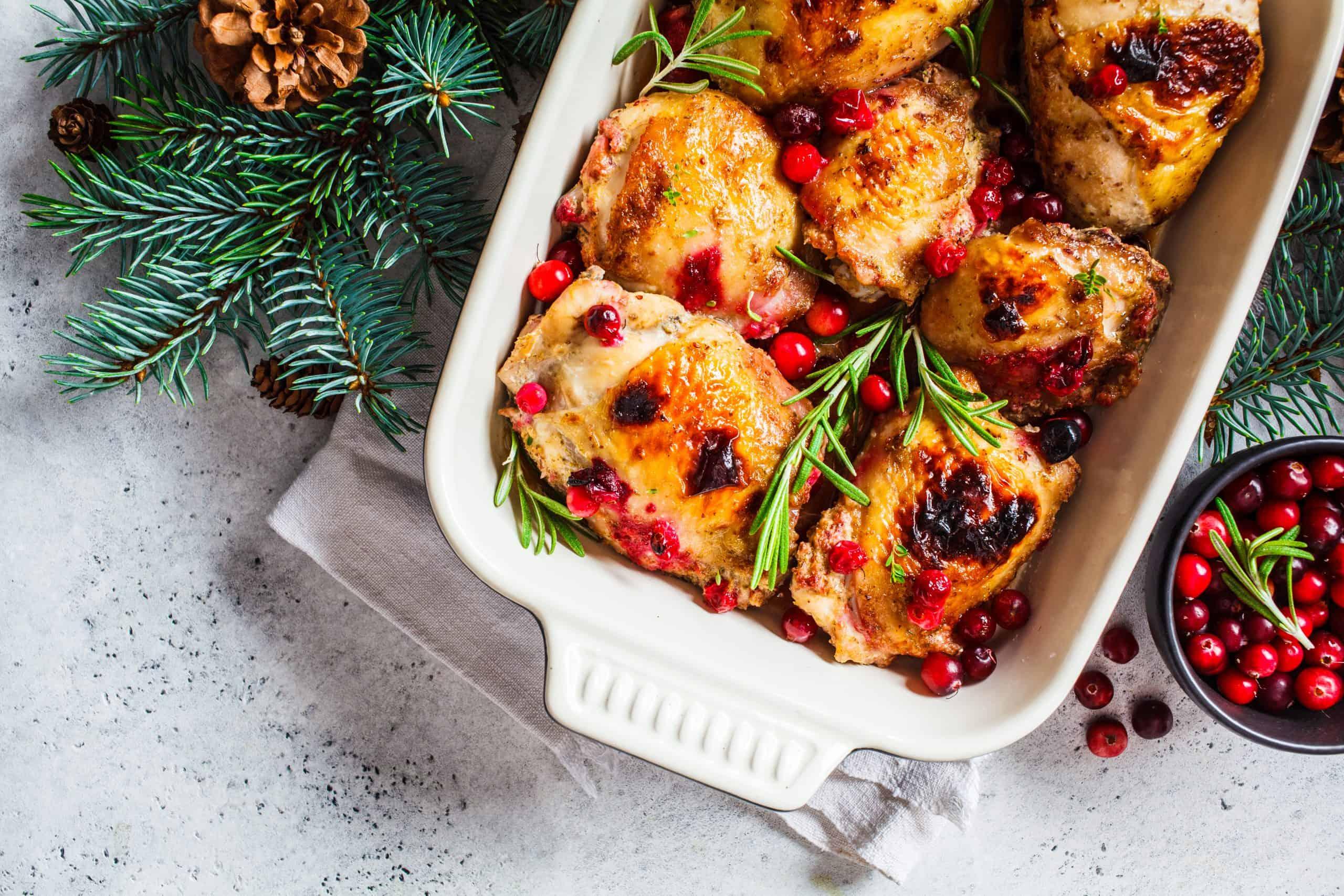 Festive Roast Chicken - Christmas Recipes