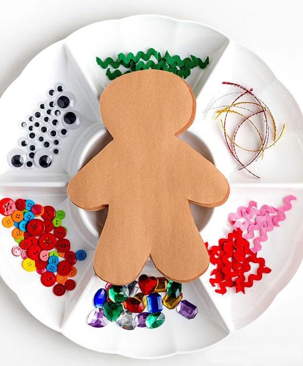 DIY Christmas Gift Ideas - Gingerbread Man