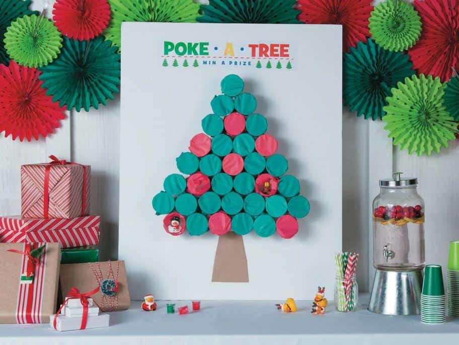 DIY Christmas Gift Ideas - Poke a Tree Game