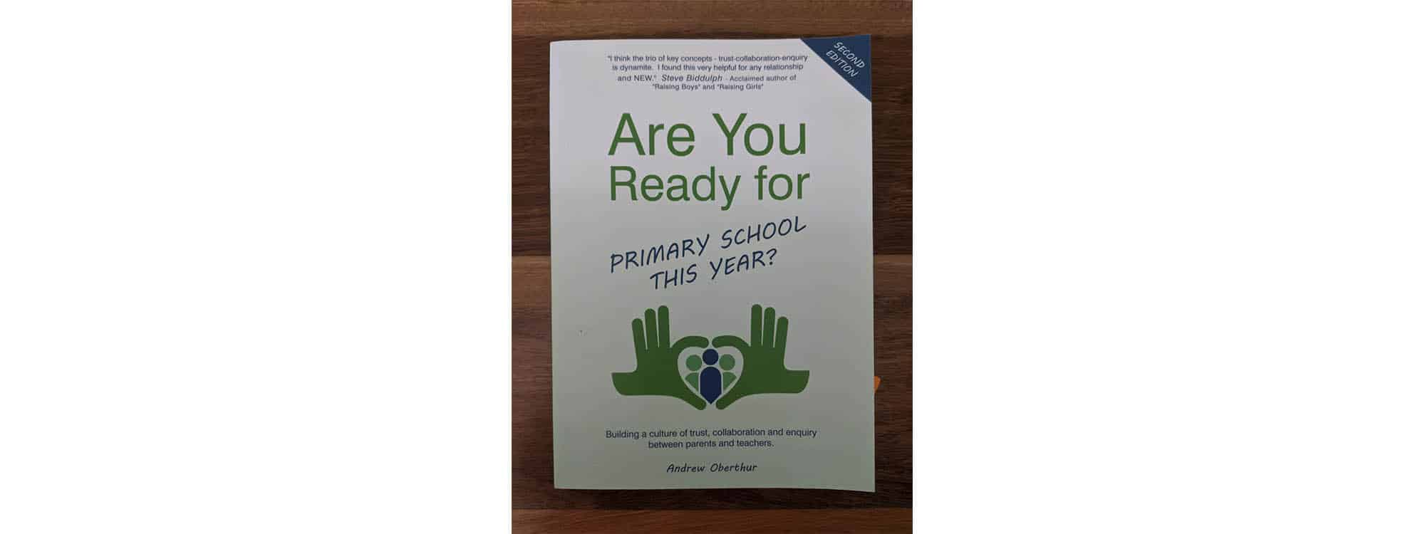 WIN a Copy of Are You Ready for Primary School This Year?