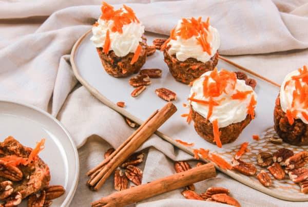 Lakanto Easter Carrot Cupcakes Header