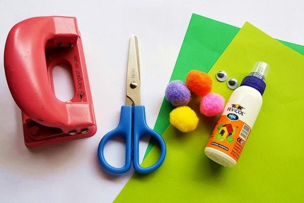 Craft Activities - Colourful Caterpillars