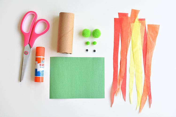 Craft Activities - Fire Breathing Dragons