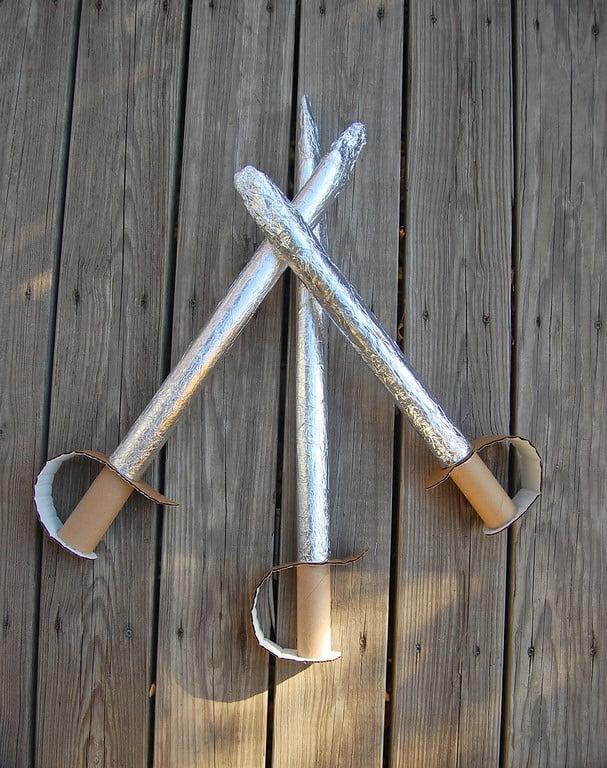 Craft Activities - Musketeer Swords
