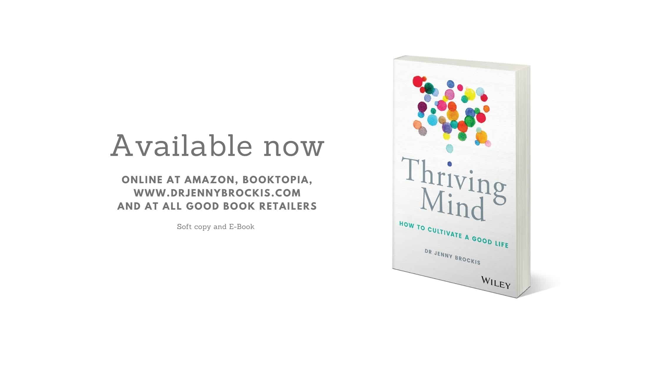 WIN a Copy of 'Thriving Mind' by Dr Jenny Brockis