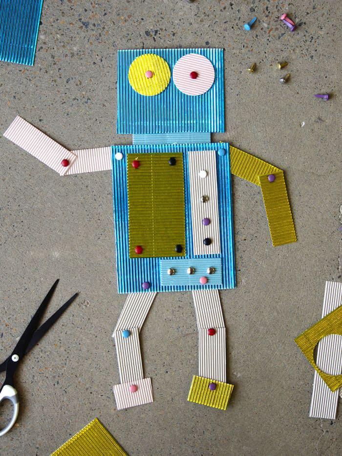 split pin robot craft
