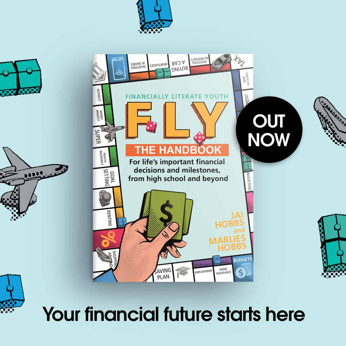 FLY book cover