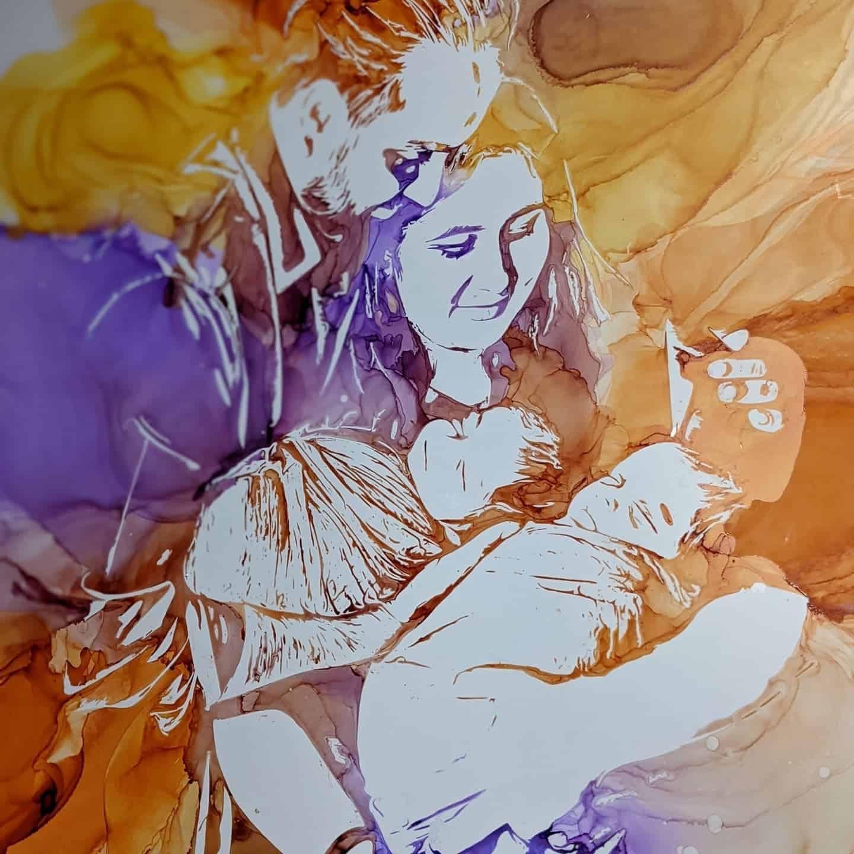 Parenting Trend – Breast Milk Portraits
