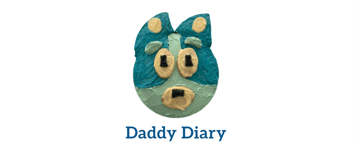 The Bluey Cake – Daddy Diary June 2021