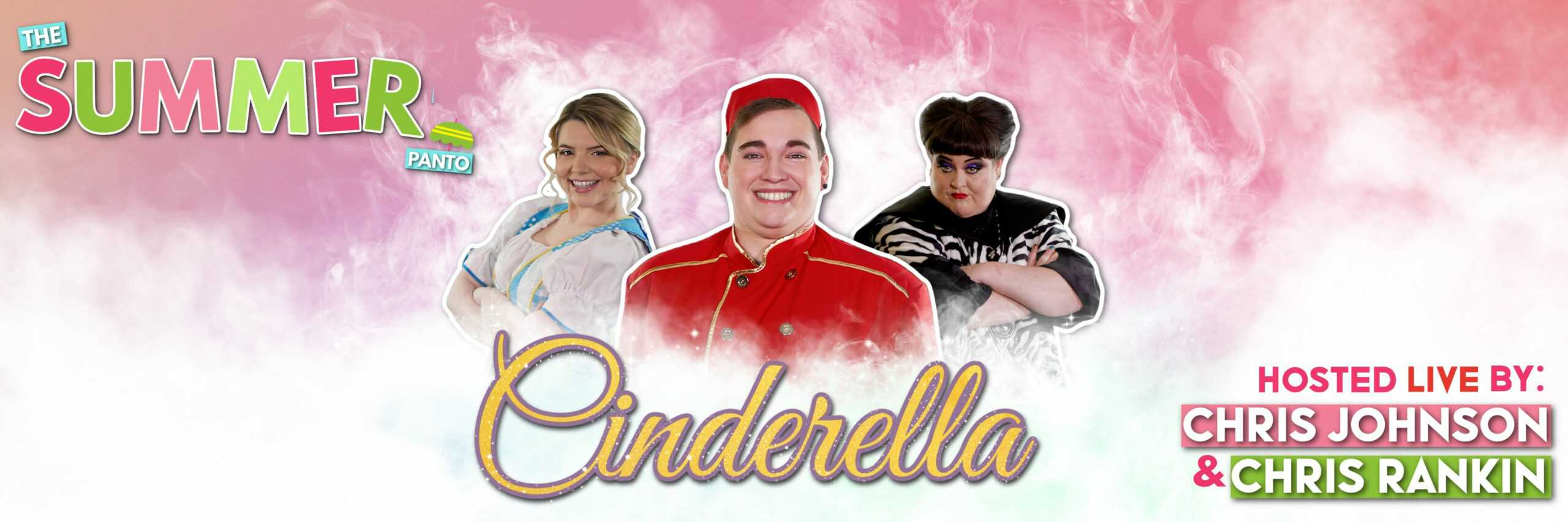 Bippity Boppity Behind You! Discover the Magic of British Pantomime in Your Own Homes with Cinderella Live
