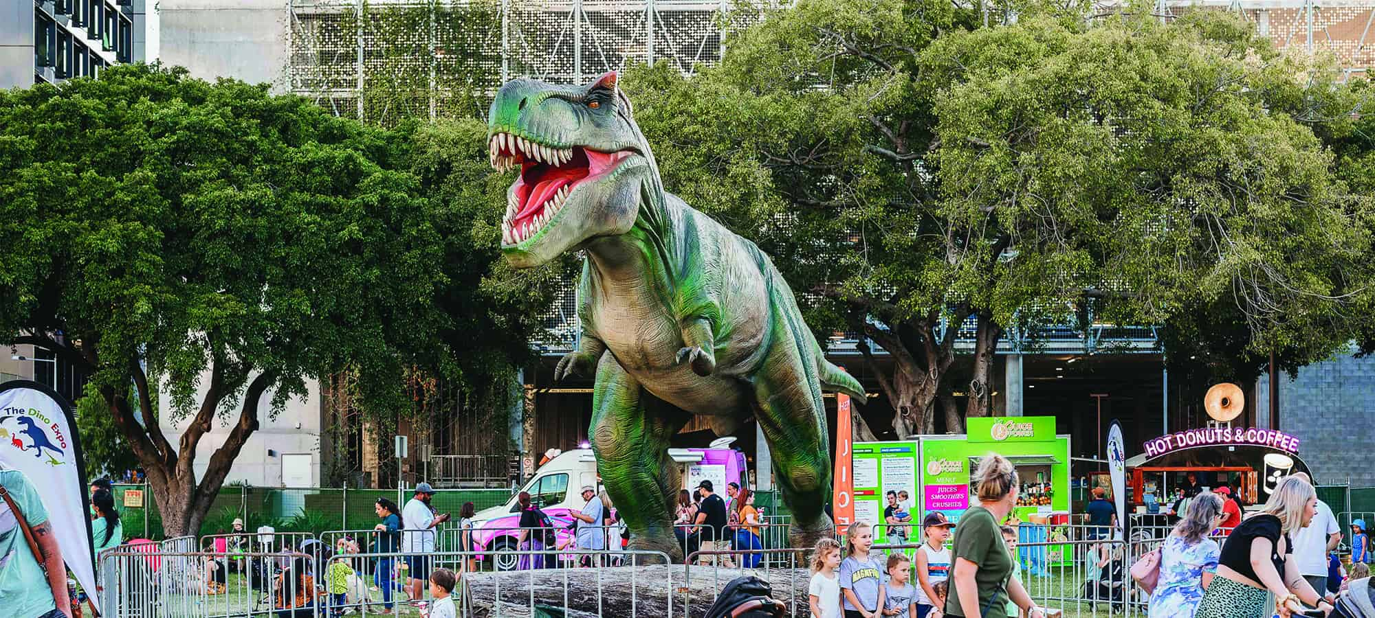 WIN a Family Pass to the 2021 Townsville Dinosaur Festival