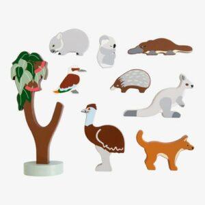 WIN an Australian Wooden Animals set from Growing Kind